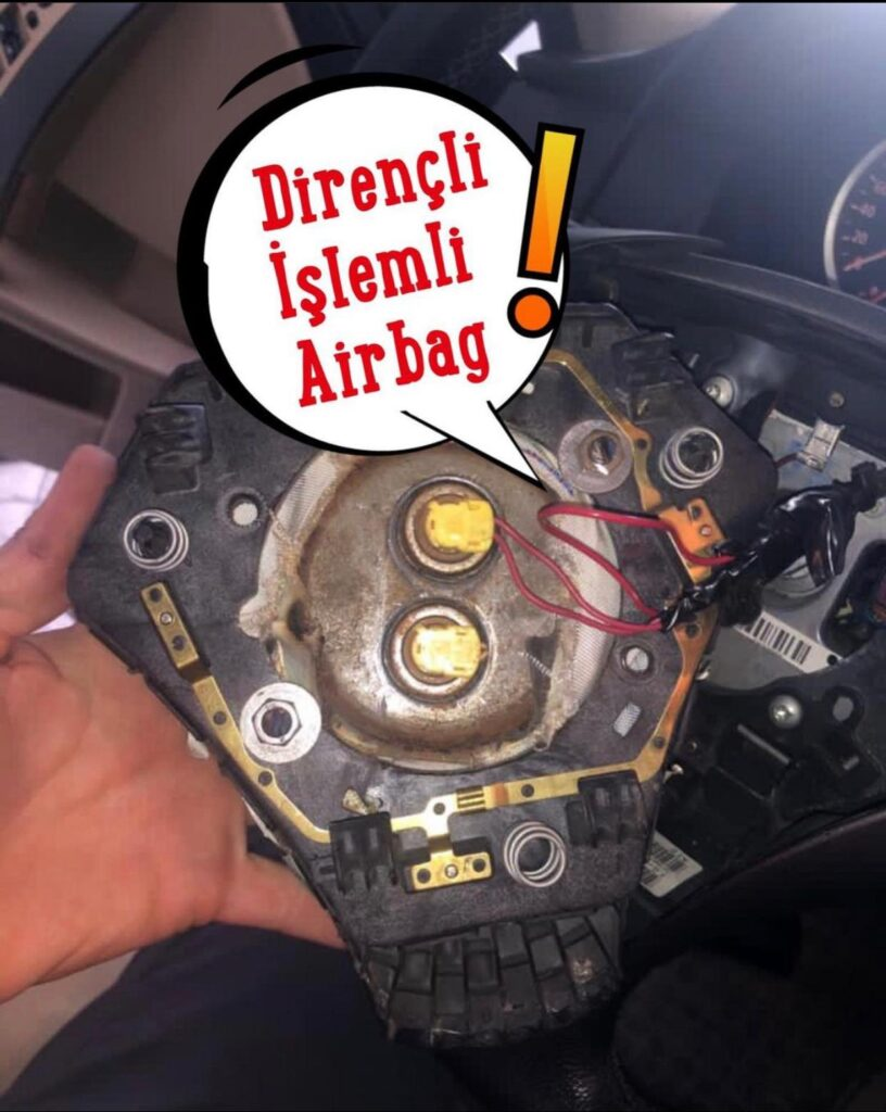 Airbag Kontrolü, hatay airbag kontrolü, antakya airbag kontrolü